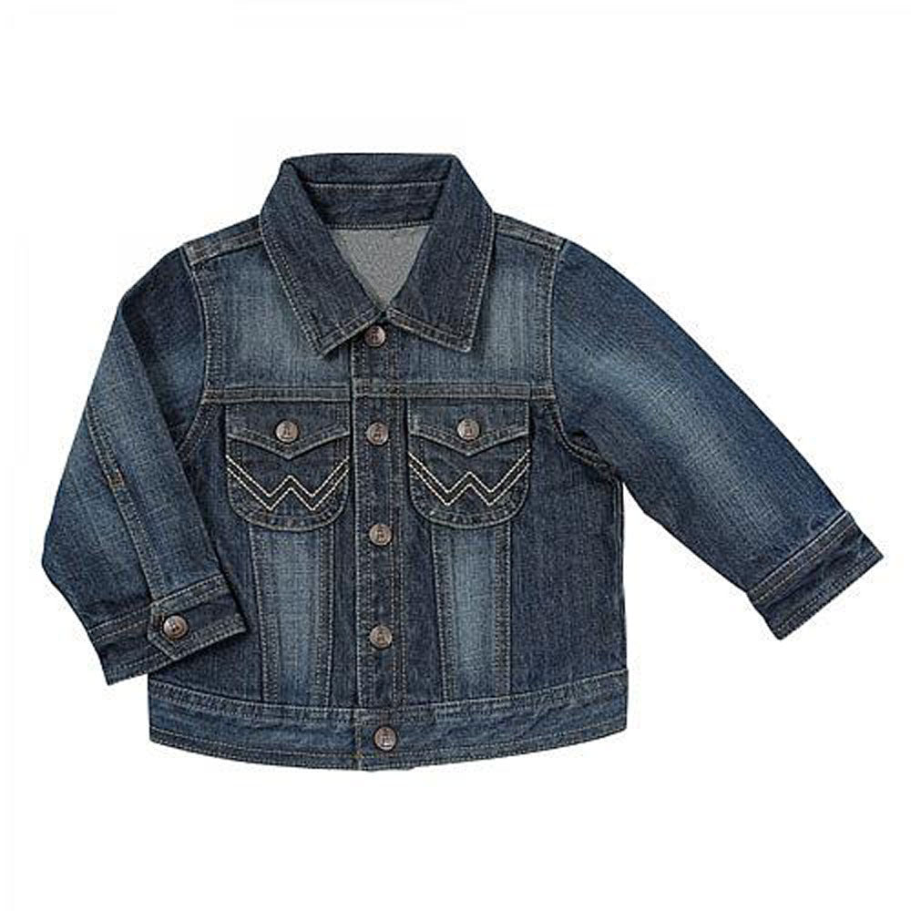 PQ7471D Wrangler All Around Baby Toddler Denim Jean Jacket 4T