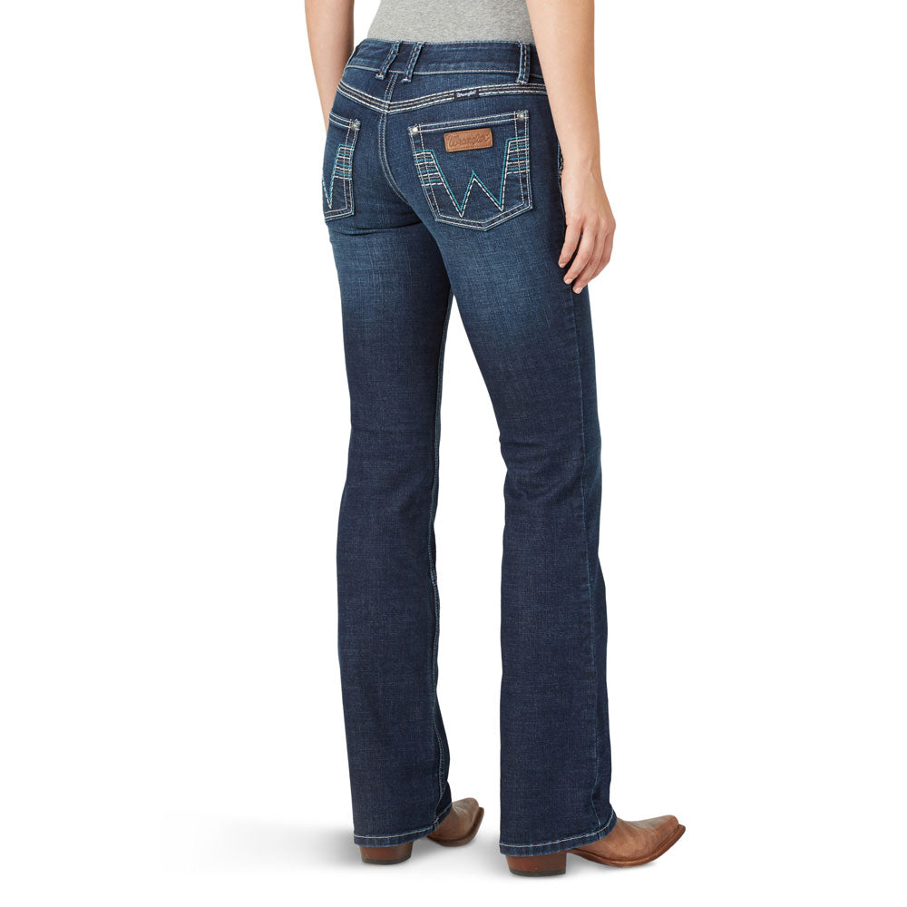 07MWZVE Wrangler Women's Retro Sadie Low Rise Jeans Color: Valerie