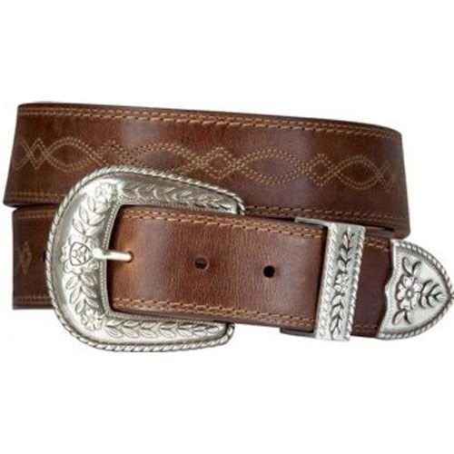 A10004144 Ariat Women's Russet Rebel Belt 3 Pc Set