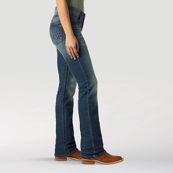 WRW60LN Wrangler Women's The Ultimate Riding Jean Willow, Color: Lynn