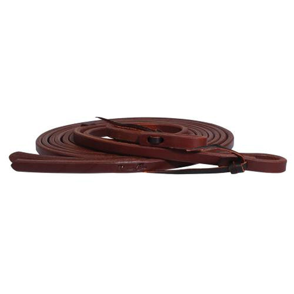 RH706 Professionals Choice Ranch Heavy Oil Harness Leather Split Reins