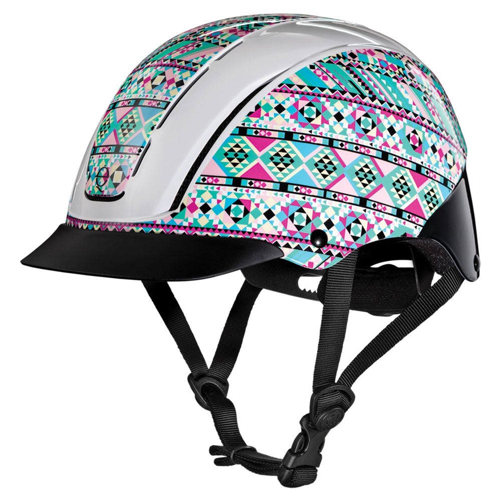 04-542 Troxel Spirit Riding Helmet Kalidescope