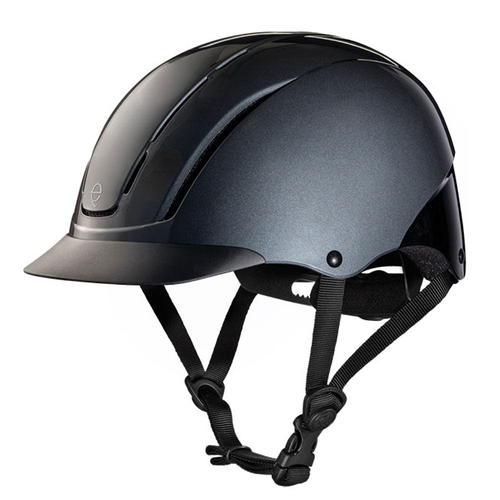 04-544 Troxel Spirit Riding Helmet - Smoke