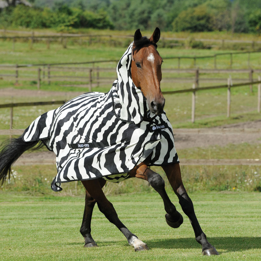 92-1041 Bucas Zebra Print Buzz Off Fly Sheet