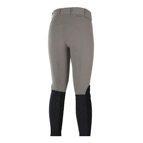 36459-FBR Horze Women's Grand Prix Knee Patch Breeches - Fungi