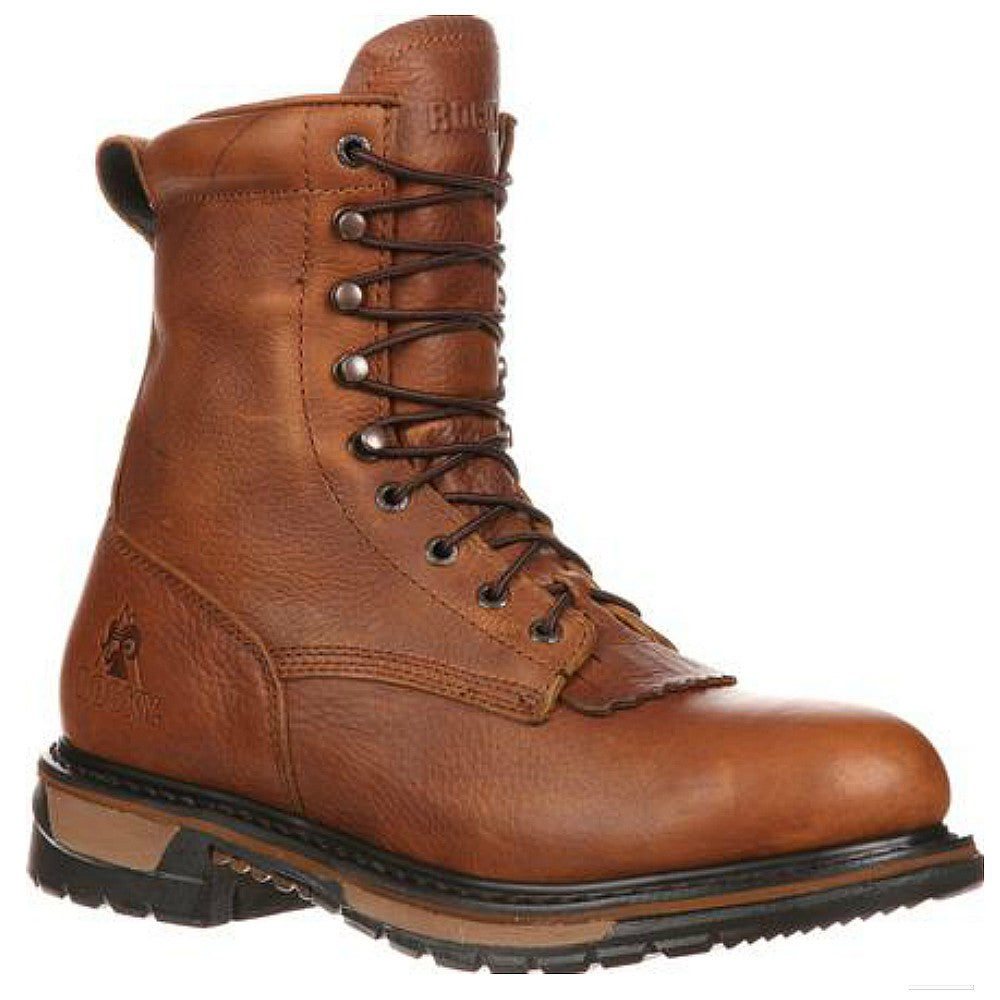 2723 Rocky Mens Original Ride Lacer Waterproof Western Work Boot