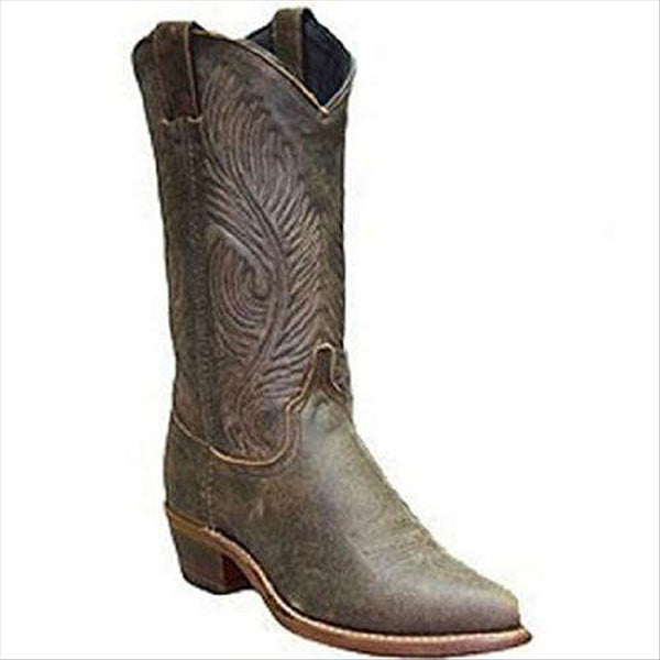 9059 Abilene Ladies 11 Inch Brown Cowhide Western Boot