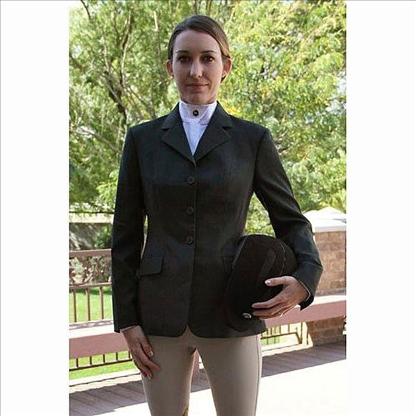 D8267 Ladies Green Plaid English Show Coat RJ Classics' Essential Collection