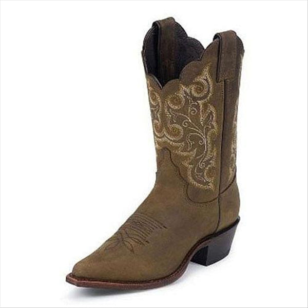 L4933 Justin Ladies Bay Apache Western Boot L4933