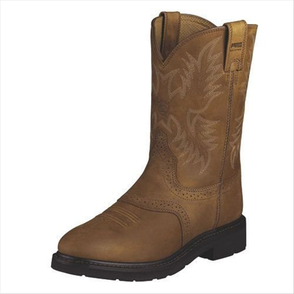 10002304 Ariat Men's Sierra Saddle Boot - Aged Bark
