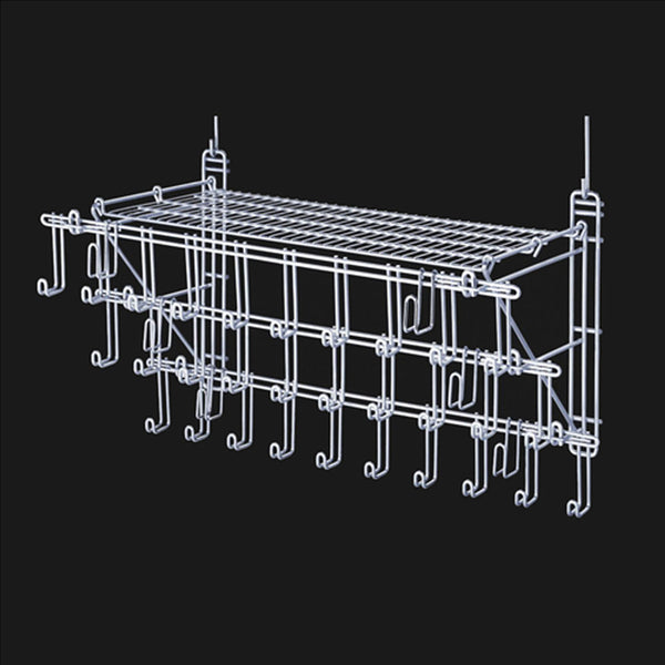 BRD-3BR-001 Royal Wire 3 Tier Bridle Rack