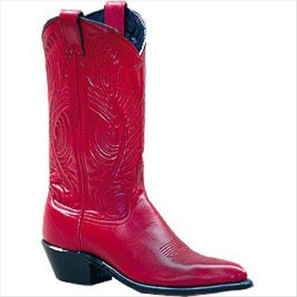 9052 Abilene Ladies 11 Inch Red Western Boot