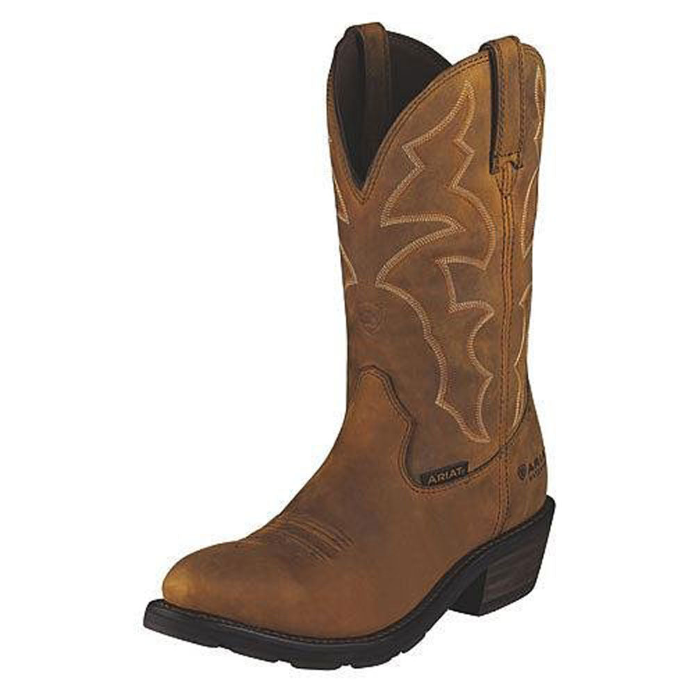 10006299 Ariat Men's Ironside Waterproof Boot - Dusted Brown