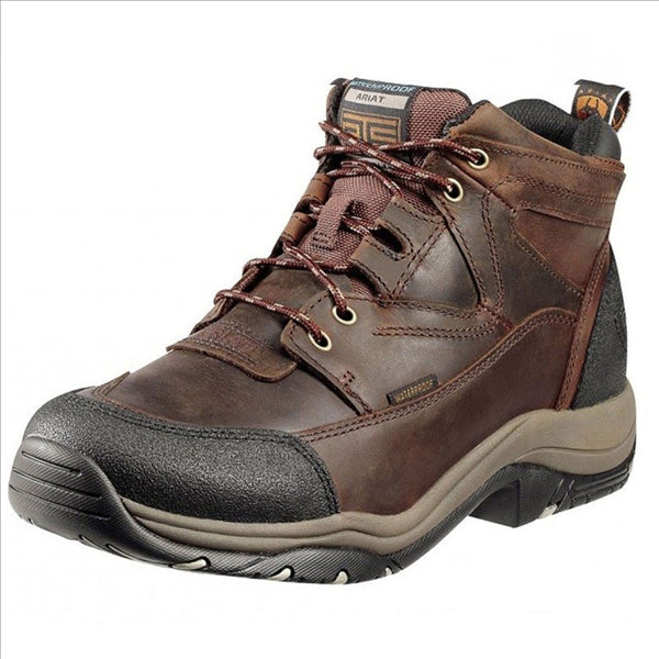10002183 Ariat Men's Terrain H2O Waterproof Boot - Copper