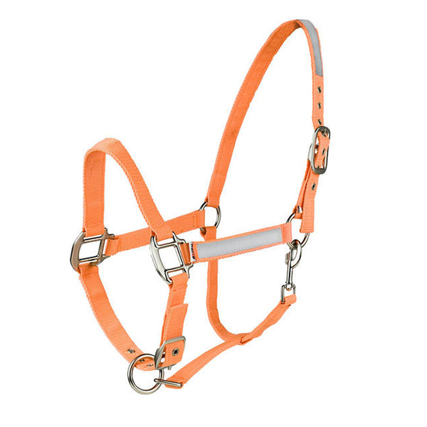 29220 Horze Reflective Halter - Orange