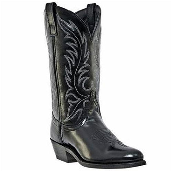 5740 Laredo Ladies Leather Foot Western Boot Black