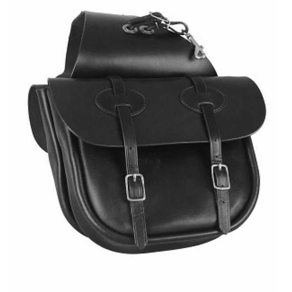 123 Tucker Traditional Saddle Bag - Leather