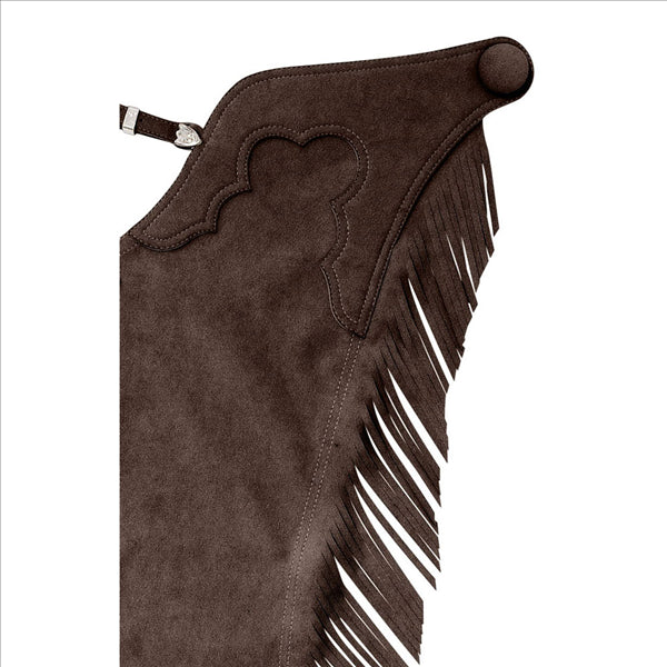 701 Hobby Horse Ultrasuede Fringed Chaps - Adult