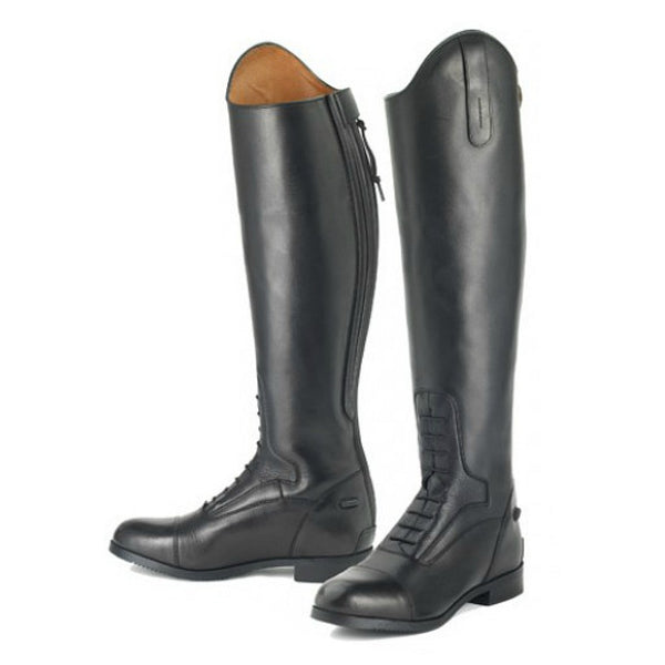468543 Ovation Ladies Flex Sport English Field Boot - Black