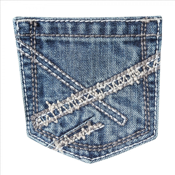42BWXBB Wrangler 20X No. 42 Vintage Boot Jean Boys' 8-18 Breaking Barriers