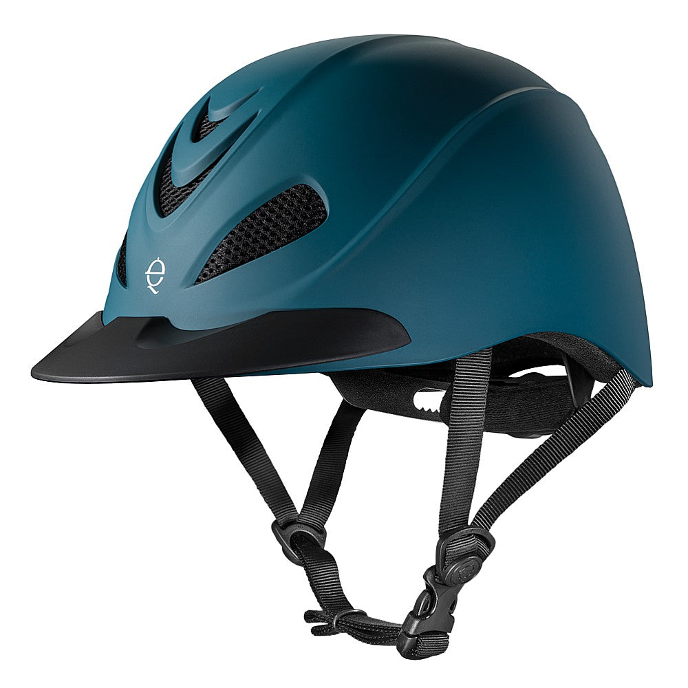 04-239 Troxel Liberty Low Profile Horse Riding Helmet- Bluestone Duratec