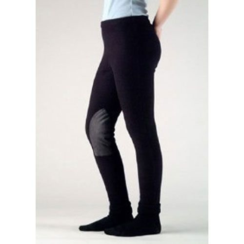 316 DEVON AIRE Polar Tec Kids Pull On Winter Riding Breeches - Black