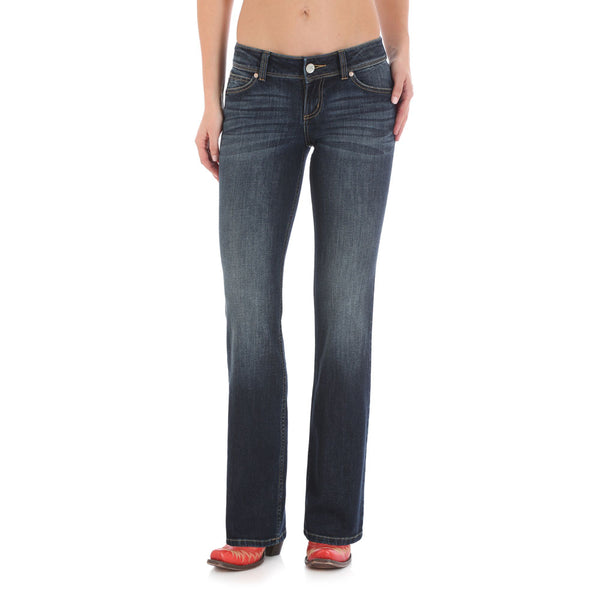 07MWZGS Wrangler Women's Retro Sadie Low Rise Jean - Dark Blue