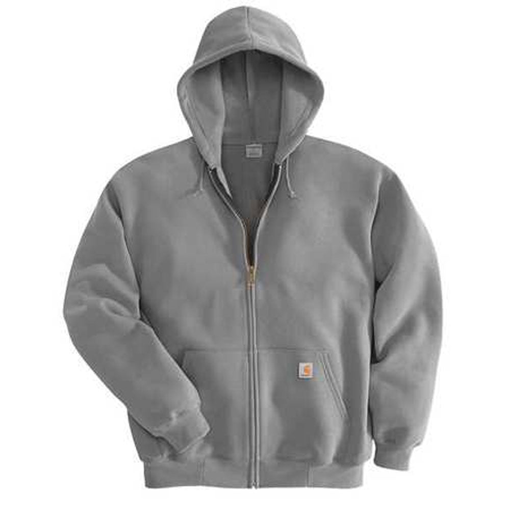 K122 Carhartt Mens Midweight Hooded Zip Front Sweatshirt- Several Colors