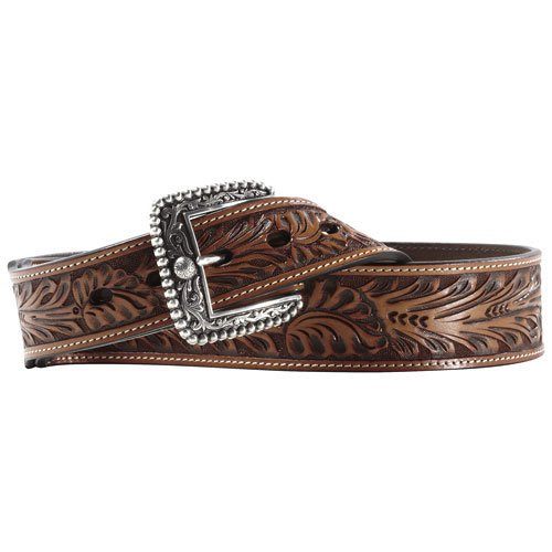 10011082 Ariat Men's Randall Belt - Cedar 42 Inch