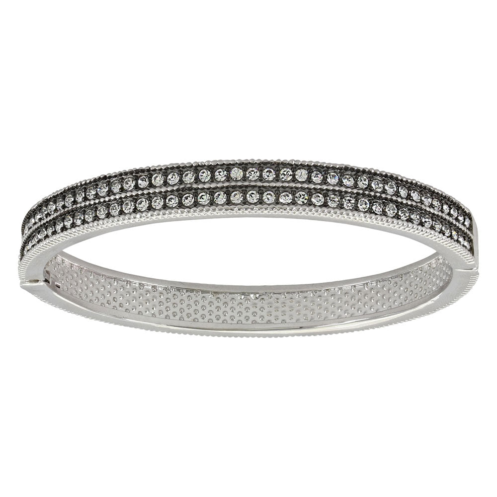 BC3436 A Stroll at Midnight Hinged Bracelet Montana Silversmiths