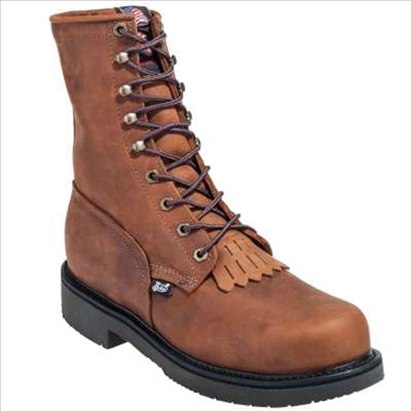 760 Justin Men's Aged Bark Lacer Work Boot