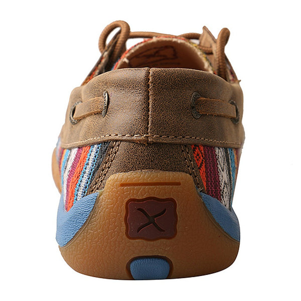 WDM0076 Twisted X Women's Driving Moc In Serape Canvas