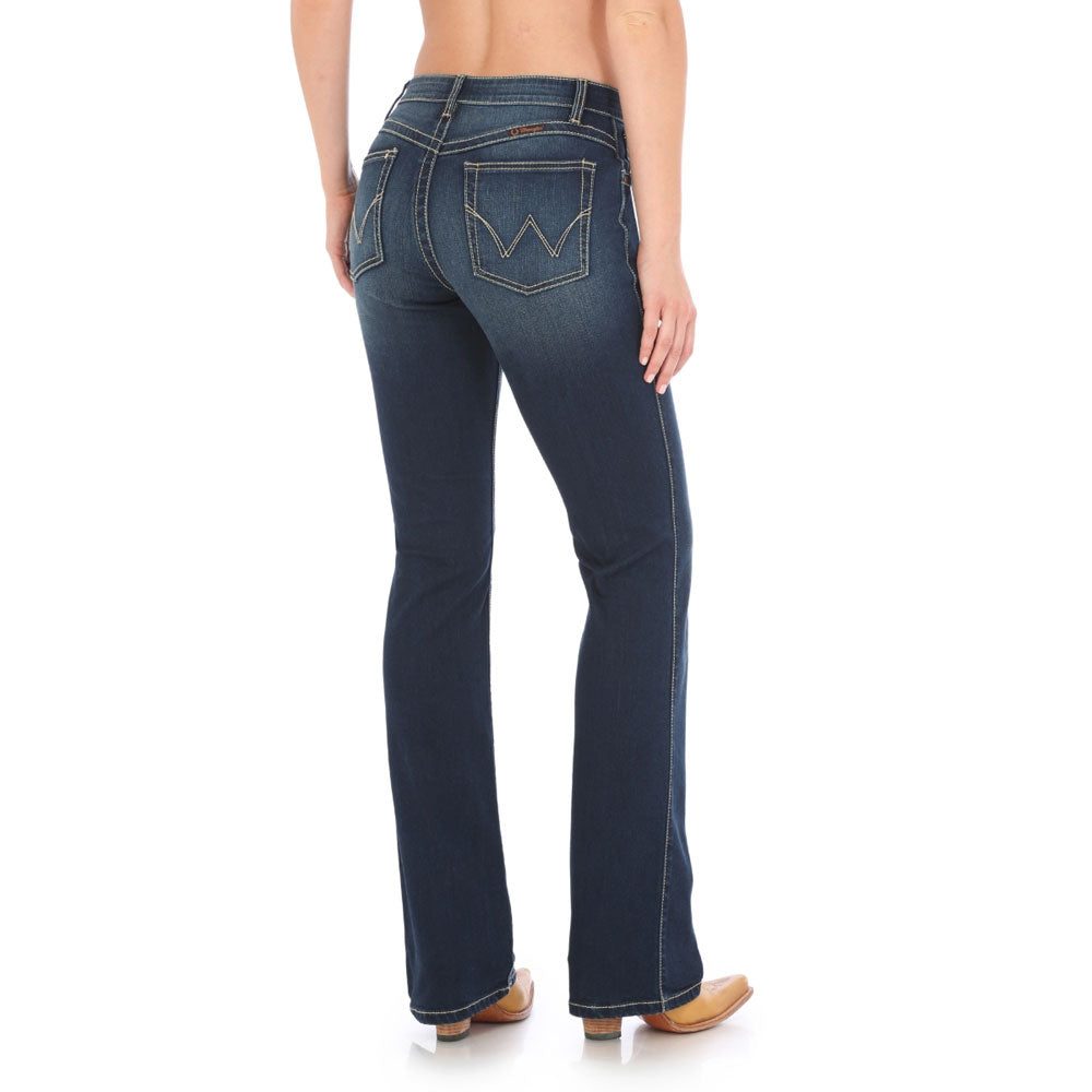 WRQ20NR Wrangler Ladies Q-Baby Ultimate Riding Jean - Dark Blue