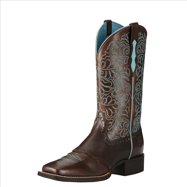10019907 Ariat Women's Round Up Remuda Western Cowgirl Boots