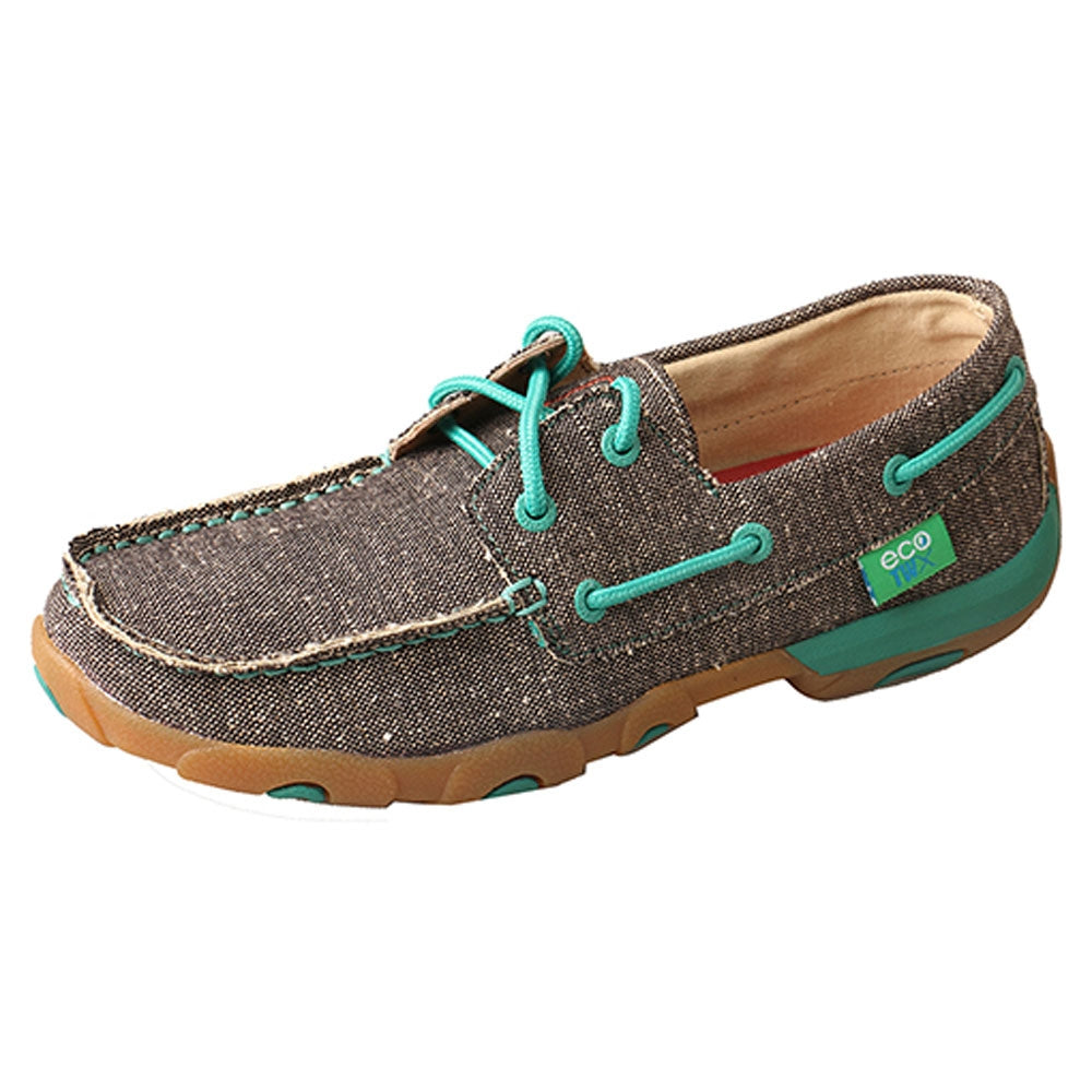 WDM0085 Twisted X Women's ECO Driving Moc - Dust