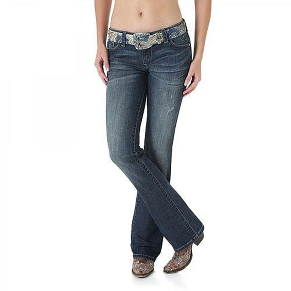 WHX17EV Rock 47 By Wrangler Fashion Jean - Sits Above Hip - Color: Ever After