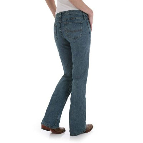 WRS40FL Wrangler Ladies Shiloh Jeans Flame Cowgirl Cut Ultimate Riding Jean