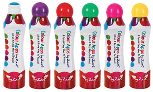 Colour Apps Dot Markers - Assorted Colours 6pk