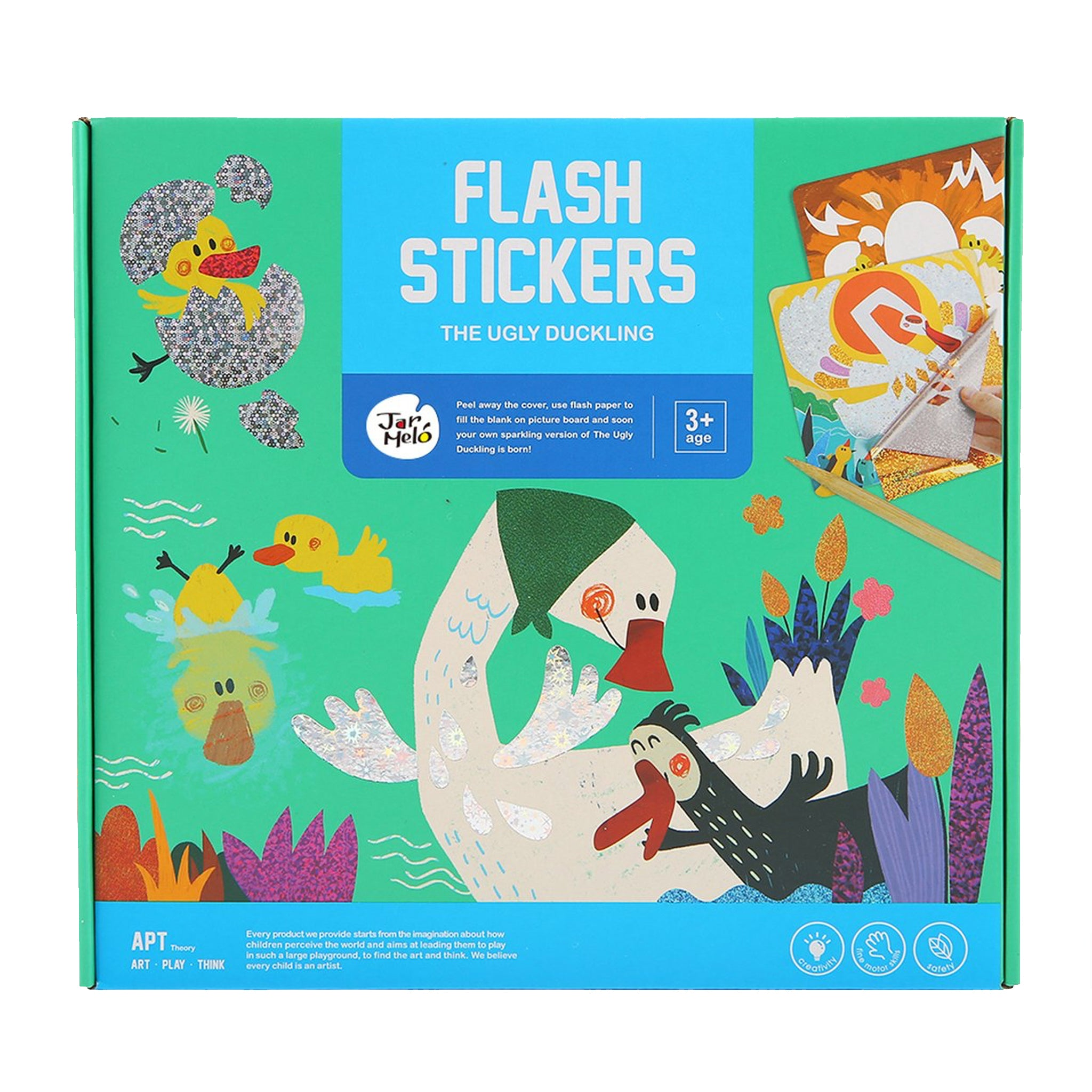 Flash Stickersthe Ugly Duckling