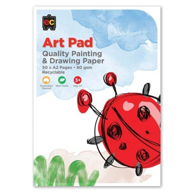 Drawing and Painting Art Pad: Large A2