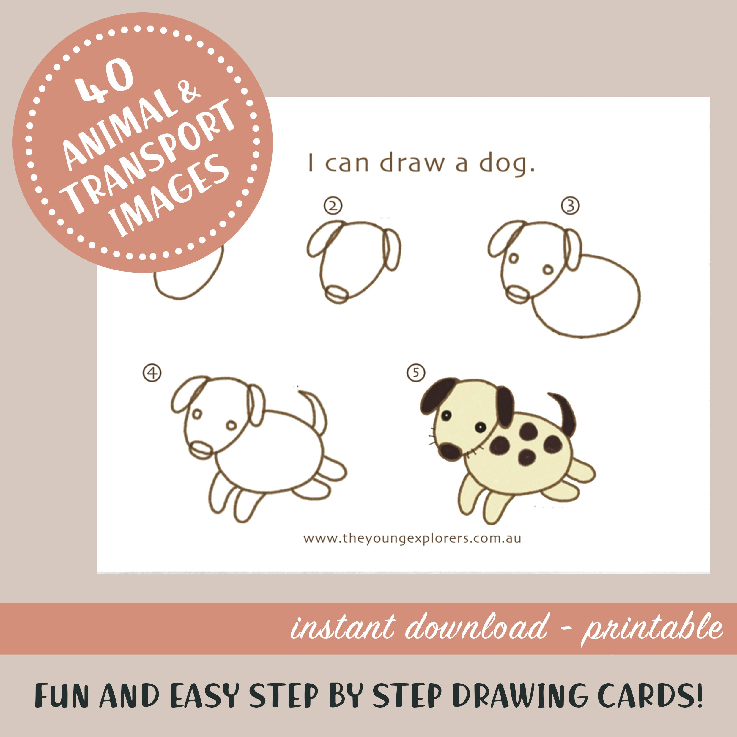Step By Step Drawing I Can Draw Animals and Transports