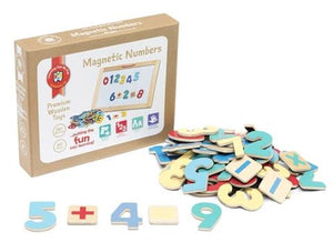 Magnetic Numbers Set of 60 pieces