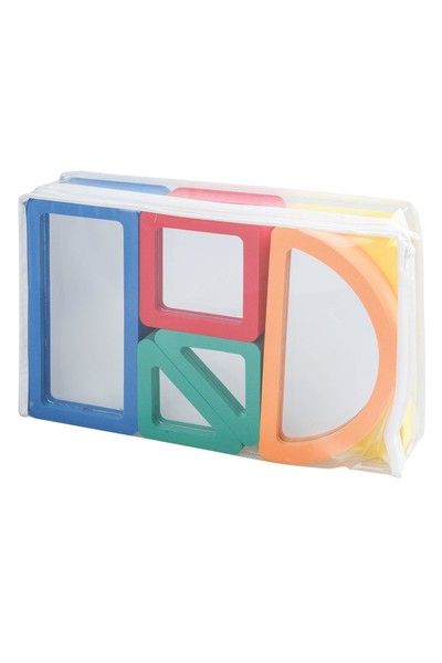 Safety Mirror Blocks Asst 10's