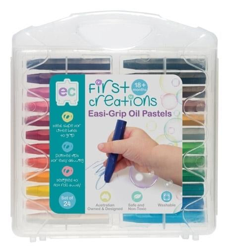 EC First Creations Easi-Grip Oil Pastels Set of 24