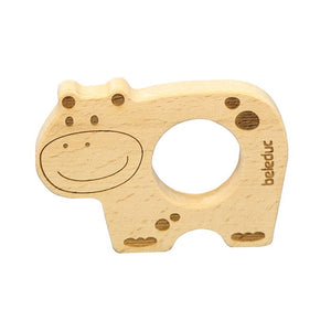 Beleduc Wooden Teether Hippo