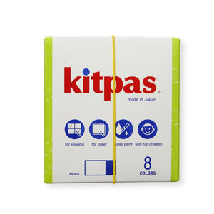 Kitpas Block Crayons 8 colours