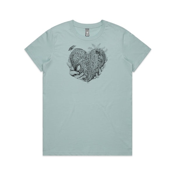 Womans Tee - Heart