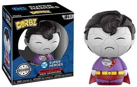 Superman Bizarro Dorbz Vinyl Figure (Toys R Us Exclusive)