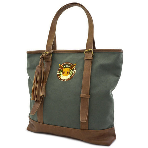 Loungefly X Pokemon Eevee Canvas Tote Bag