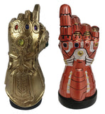Marvel Infinity and Nano Gauntlet LED Desk Monument - SDCC 2020 Previews Exclusive